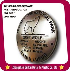 Yellowstone national park custom souvenir metal fridge magnet