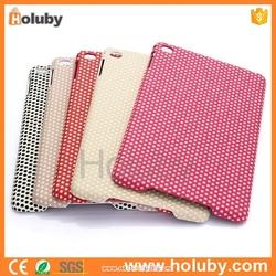 Cute Polka Dots Pattern Leather Coated PC Hard Case for iPad Mini 3 iPad Mini 2 Retina iPad Mini