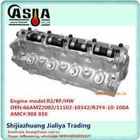 MAZDA R2 CYLINDER HEAD complete with OEM 66AMZ002 11102-10342 OR2TF-10-100B R2Y4-10-100A 66AMZ002 AMC 908 850
