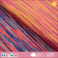 Polyester spandex satin dye yarn fabric