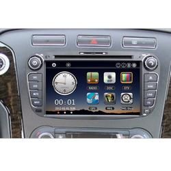 "High quality 7"" Car DVD Player Bluetooth GPS Navigation Car Video Radio 2 Din PC Stereo Head Unit"