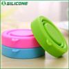 Portable Travel Food Grade Approve Reusable Silicone Collapsible Cup