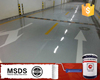 Anti wear floor paint two-compound epoxy liquid industrial epoxy resin flooring