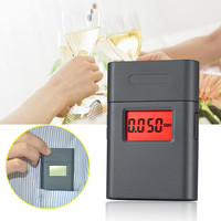 Mini wine alcohol meter in abs material alcometer with 360 degree rotary mouthpiece