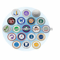 Chinese color and logo customized plastic token