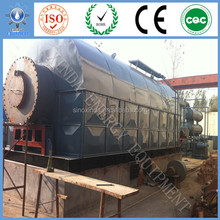 With High Temperature feeding system small waste tyre pyrolysis oil plant