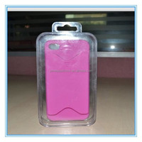 160*90*22mm phone case packing gift box with hanger