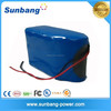 High power safe 18650 48 volt 10ah battery 48v lithium ion battery for power tools