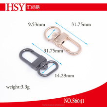 small metal alloy snap hook for keychain