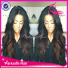 New !!!6Agrade top quality dark roots 100%human hair two tone full lace / lace front dark purple wig