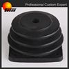 industial grade free of burrs corrugated rubber air bellow