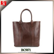 newest italy brand woman handbag custom genuine leather tote bag fashion lady hand bag