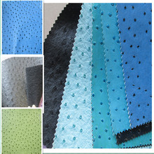 Guangdong stocklot sofa and upholstery pvc leather for furniture fabric