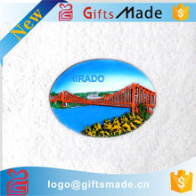 wholesale custom cheap resin , tin , plastic small round colored magnet for fridge