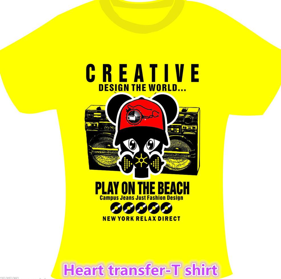 High Quality Vinyl Heat Transfer T Shirt Reflective