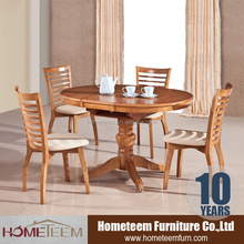 Round kitchen tables with height adjustable table leg