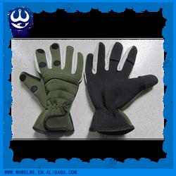 Soft and waterproof neoprene fishing glove
