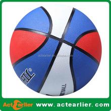 cheap customized logo nature rubber basketball in bulk