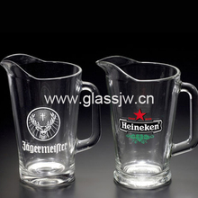 Wholesale 1000ml Glass Pitcher With Handle