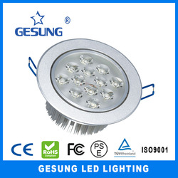 indoor decoration 12w led down lighting with ce&rohs