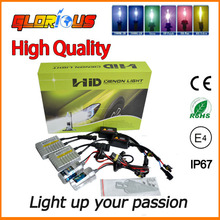 2015 top quality low defective fast start silver price gt hid xenon conversion kit