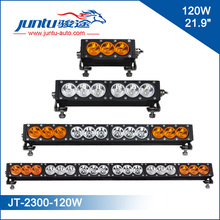 """New Product White and Amber 22"""" 120W 12V Roof Rack 4x4 Offroad LED Light Bar"""