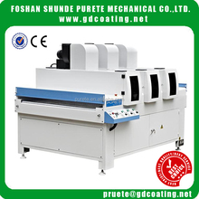 Dry paint with UV curing machine for MDF sheets and plywood
