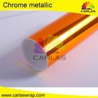 Atacado carlas 1.52*20m chrome etiqueta para embrulhar, auto chrome emblema emblema autocolante