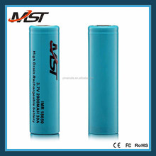 High Drain 18650 battery 2000mAh NCR18650 PF Hybrid Li-ion Rechargeable Battery18650 battery