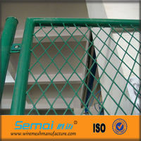 PVC Coated Expanded Metal Gates ( Factory )
