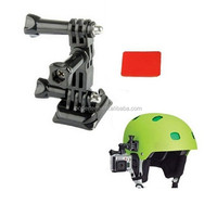 Gopros helmet Curved Adhesive Side Mount for Go pro hero4 session SCAM SJ4000 camera accessories GP18