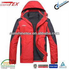 OEM brand name outdoor winter jackets for man