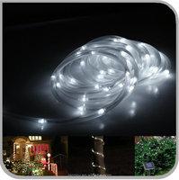 Ourdoor Solar Powered Rope Light Tube String Garden Fairy Party Waterproof Light 100LED (JL-7503)