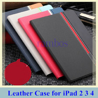 Smart Stand Cover PU Leather Case Tablet Funda for iPad 2 3 4