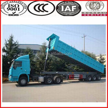 2015 promotion tipping trailer/dump trailer from top brand trailer company SINOTRUK direct factory
