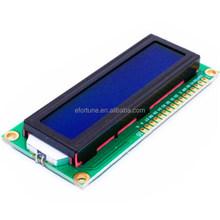 1602 LCD Display 16 X 2 LCD1602 Verdant Characters Blue Backlight HD44780 New