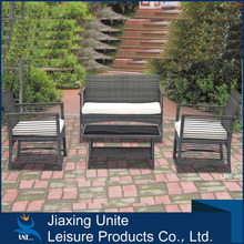 Cheap promotional wicker/rattan set for outdoor and garden