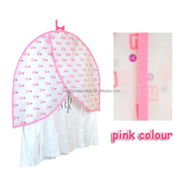 Durable 100% Polyester suit garment bag cover foldable suit cover