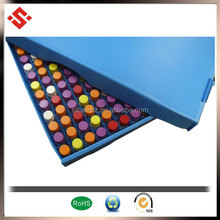 2015 light weight corrugated plastic storage tray with dividers