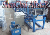 China Automatic Roof Color Steel Roofing Gutter Forming Machine