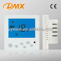 High quality digital lcd zigbee radiator thermostat for central air conditioning