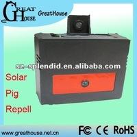 Patent&Multifunction Solar wild animal mole chaser