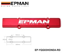 EPMAN ENGINE SPARK PLUG VALLEY COVER Red For Honda B18 B16 B20 DC2 16 18 20 EP-YQG03HONDA-RD