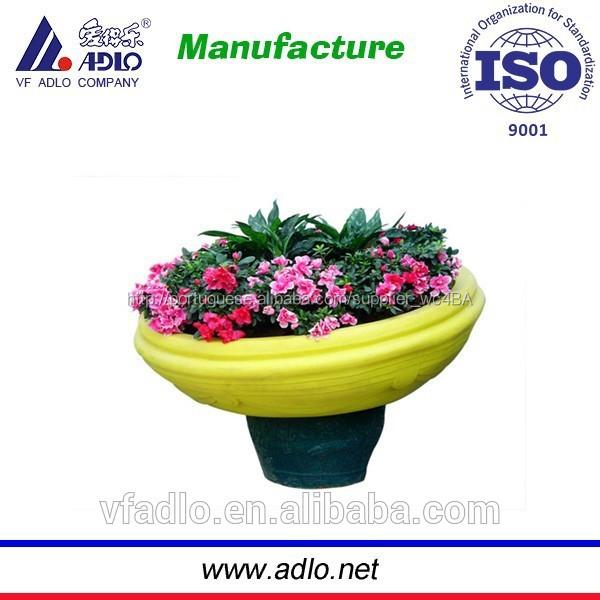 Potes de plástico para plantas / sementeira vaso de flores de plástico ao ar livre