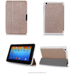 Ultra thin folio stand PU leather case for Lenovo A8-50 A5500
