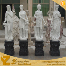 Large Size Four Seasons Marble Statues for garden decoration