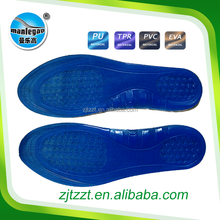 High quality full length of Silicone insole to reduce the size of shoes
