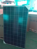 250W,300W Hanwha brand cheap poly grade A best prices per watt of solar panel made in China