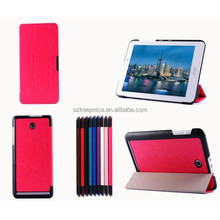 Factory Price Universal 8 Inch Crazy Horse Grain Magnetic Flip Stand Tablet Leather Case
