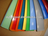 Solid and Woodgrain Colour PVC Edge Banding for Kitchen Cabinet
